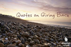 Quotes on Giving Back