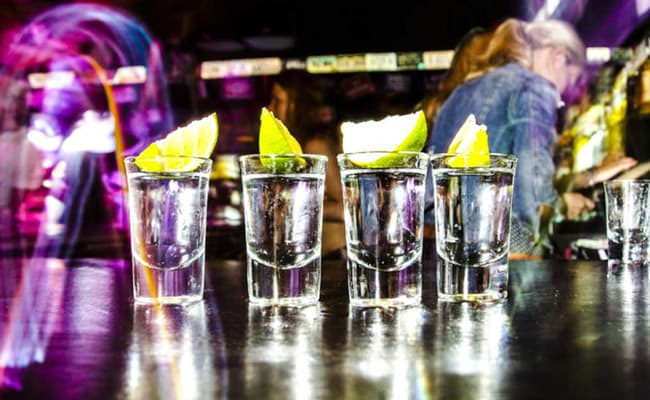 binge drinking session