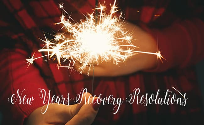 New Years Recovery Resolutions