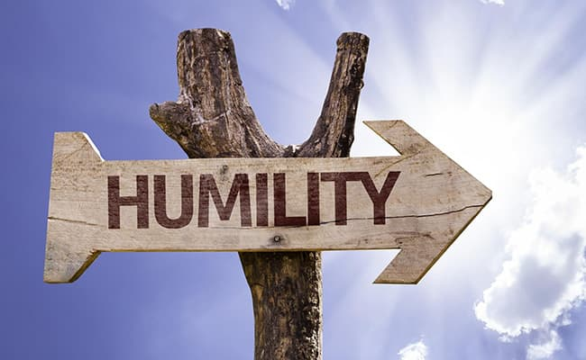 Humility in Recovery